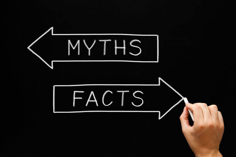 Separating myths and facts, one of many financial planning services offered by Advice Only financial planner Sandi Miller